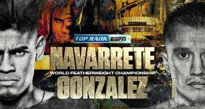 Emanuel Navarrete vs. Joet Gonzalez