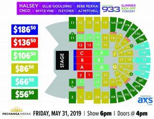 PASD 93.3 Summer Kickoff Concert Layout
