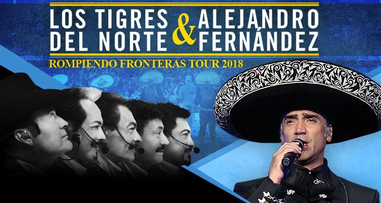 Los Tigres del Norte & AlejandroFernandez – Rompiendo Fronteras Tour