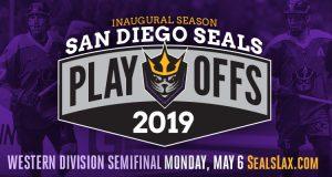 Western Divisional Semifinal: San Diego Seals vs Calgary Roughnecks