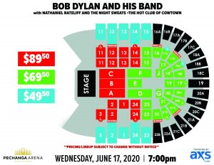 PASD Bob Dylan and His Band Layout