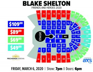 PASD Blake Shelton Layout