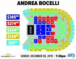 PASD Andrea Bocelli Layout