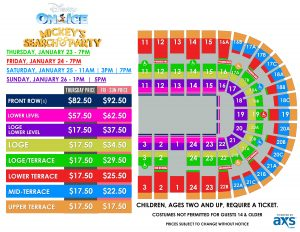 PASD Disney On Ice presents Mickey's Search Party Layout