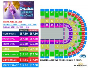 PASD Disney On Ice presents Celebrate Memories Layout