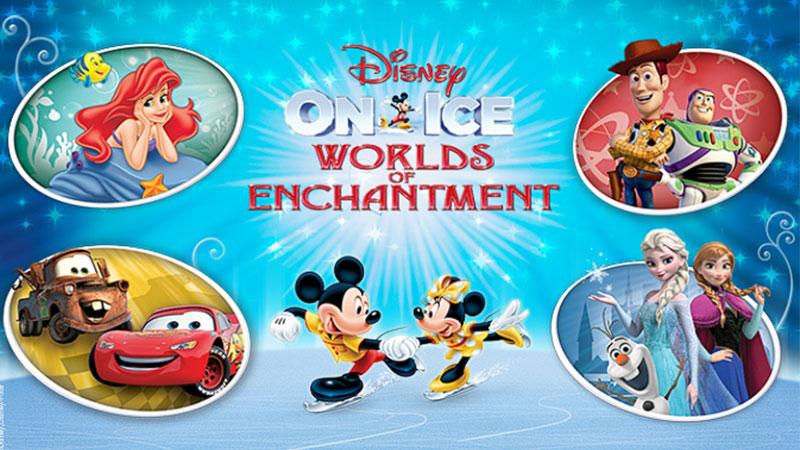Disney On Ice Worlds Of Enchantment Pechanga Arena San Diego