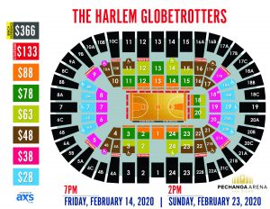 PASD The Harlem Globetrotters Layout