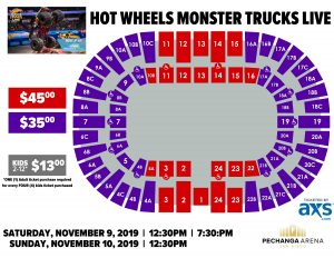 PASD Hot Wheels Monster Trucks Live Layout