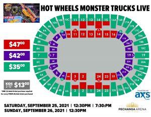 PASD Hot Wheels Monster Trucks Live Layout
