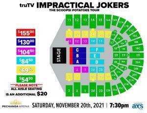 PASD Impractical Jokers Layout