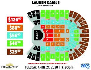 PASD Concert Layout