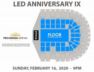PASD LED ANNIVERSARY IX Layout