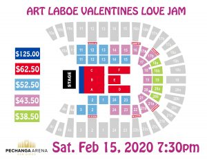 PASD Art Laboe Valentines Love Jam Layout