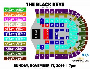 PASD The Black Keys Layout