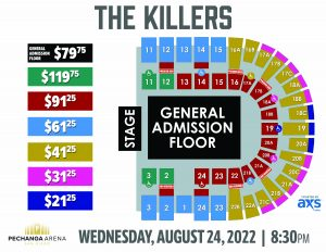 PASD The Killers Layout