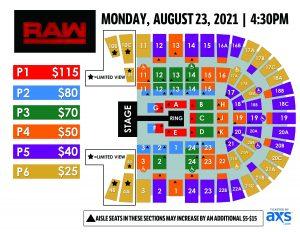 PASD WWE Monday Night RAW Layout