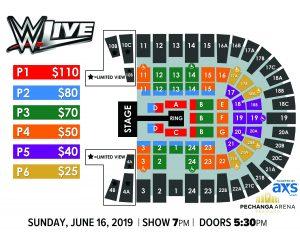 PASD WWE LIVE Layout