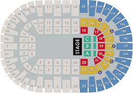 Pechanga Arena San Diego - Amphitheater Layout