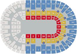 Pechanga Arena San Diego - Circus Layout