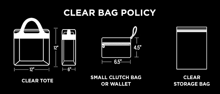 VVCC Clear Bag Policy