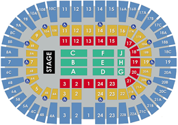 VVCC Concert Layout