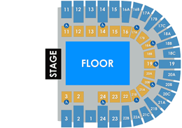 PASD General Admission Layout