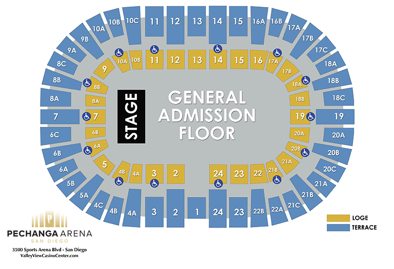 PASD General Admission Floor Layout