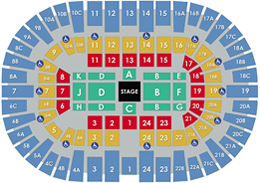 Pechanga Arena San Diego - In The Round Layout