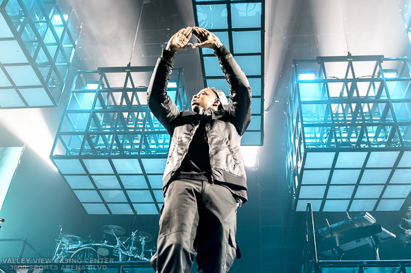 Jay Z performs during his Magna Carter World Tour  on December 7, 2013 at the Valley View Casino Center in San Diego, California