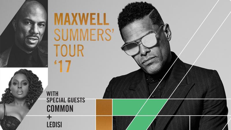 Maxwell at Pechanga Arena San Diego
