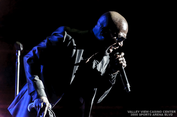 """Magic 92.5 presents Keith Sweat, GUY, Jon B, H-Town, O'Bryan and Doug E. Fresh on March 22, 2014 during their """"Spring Jam"""" tour at Valley View Casino Center in San Diego,  California"""