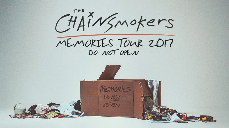 The Chainsmokers - Memories Tour 2017