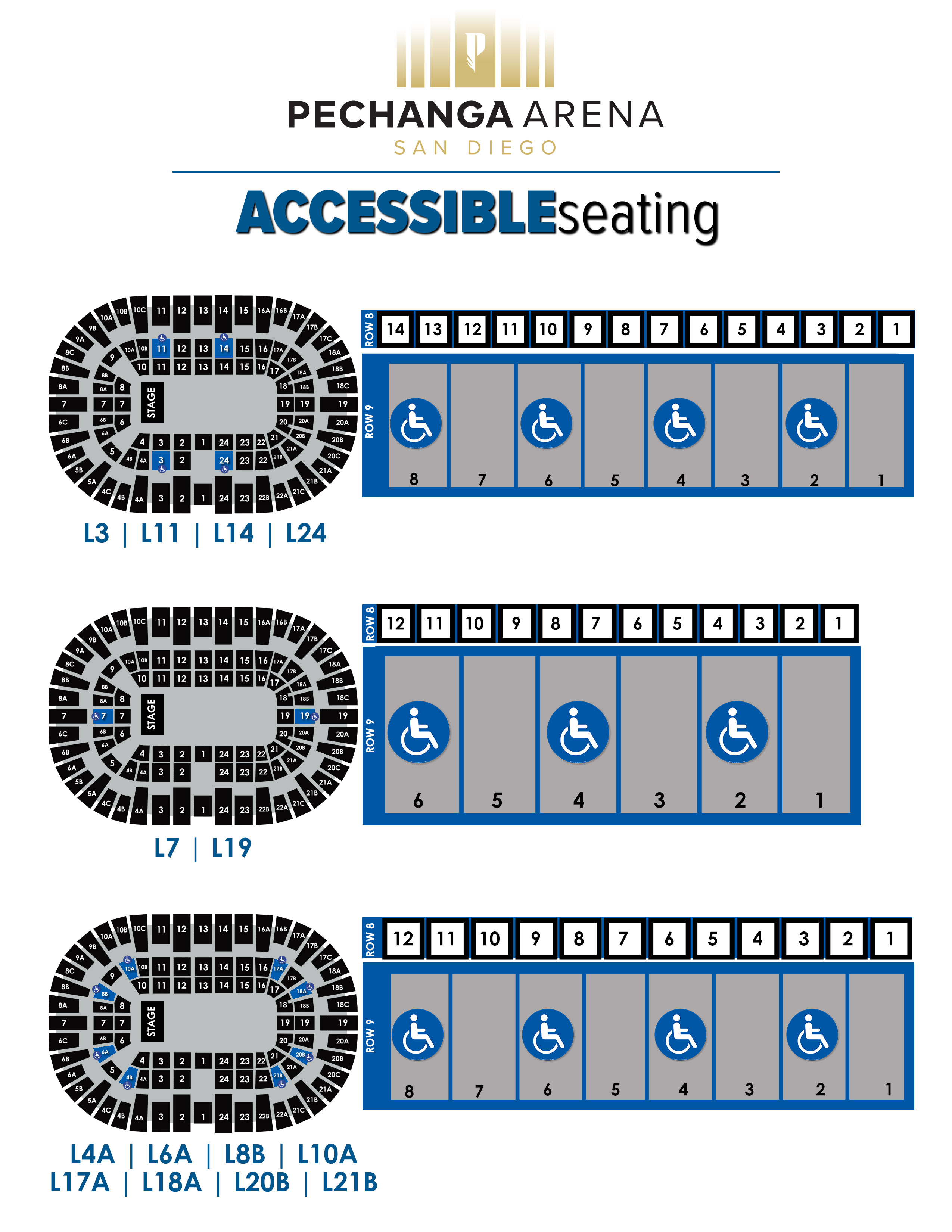 Please here to view the Accessible Seating Layout