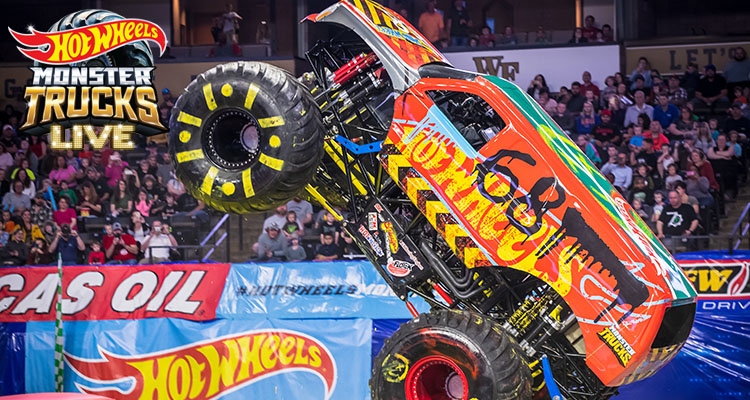 Hot Wheels Monster Trucks Live Pechanga Arena San Diego