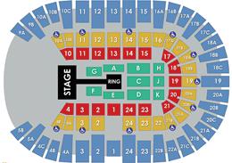 Pechanga Arena San Diego - Wrestling Layout